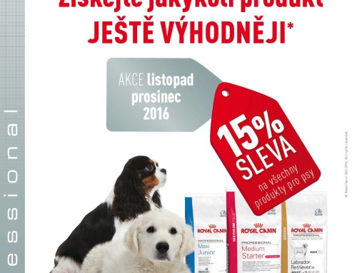 Royal Canin – akce listopad / prosinec